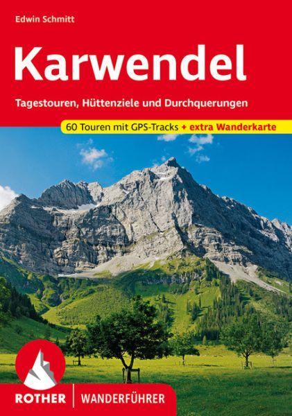 Karwendel Wanderführer mit Tourenkarte, Rother