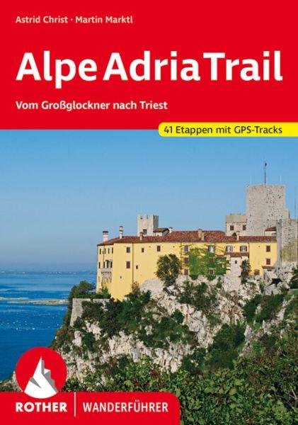 Alpe Adria Trail Wanderführer, Rother