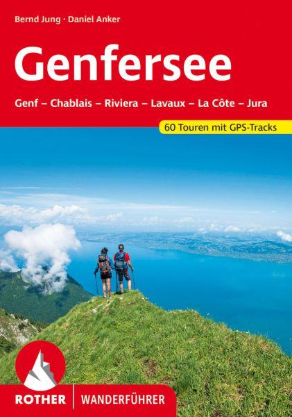 Genfer See Wanderführer, Rother