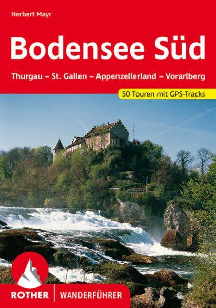 Bodensee Süd Wanderführer, Rother