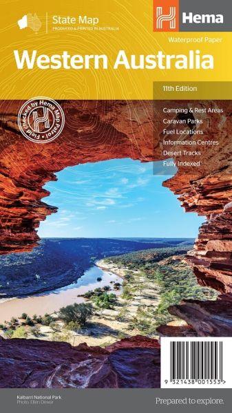 HEMA State Map Western Australia 1:2.500.000