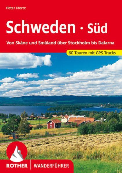 Schweden - Süd Wanderführer, Rother