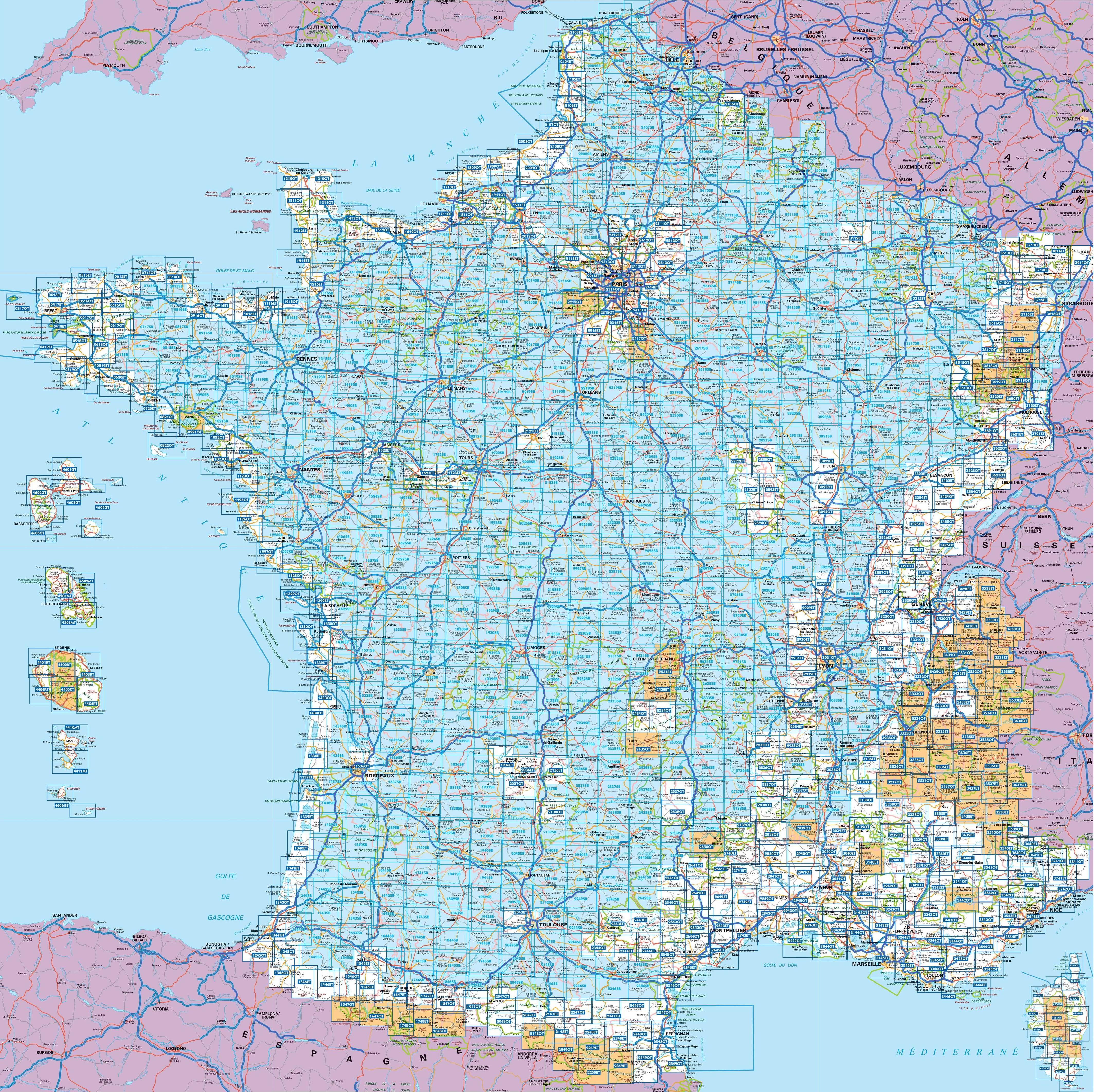 Elsass Karte Frankreich.Ign 3718 Ot Colmar Kayserberg Frankreich Topographische Wanderkarte 1 25 000