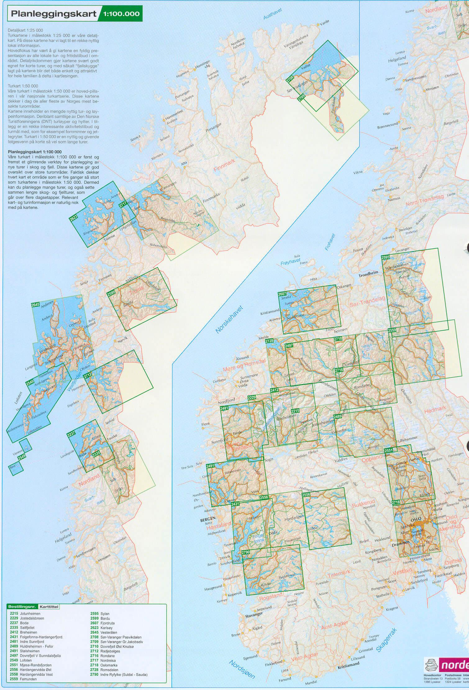 Blattschnitt Kartenübersicht der Karten