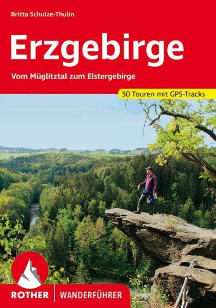 Erzgebirge Wanderführer, Rother