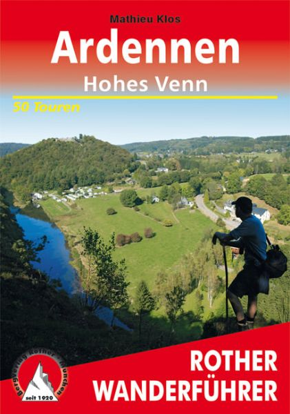 Ardennen - Hohes Venn Wanderführer, Rother
