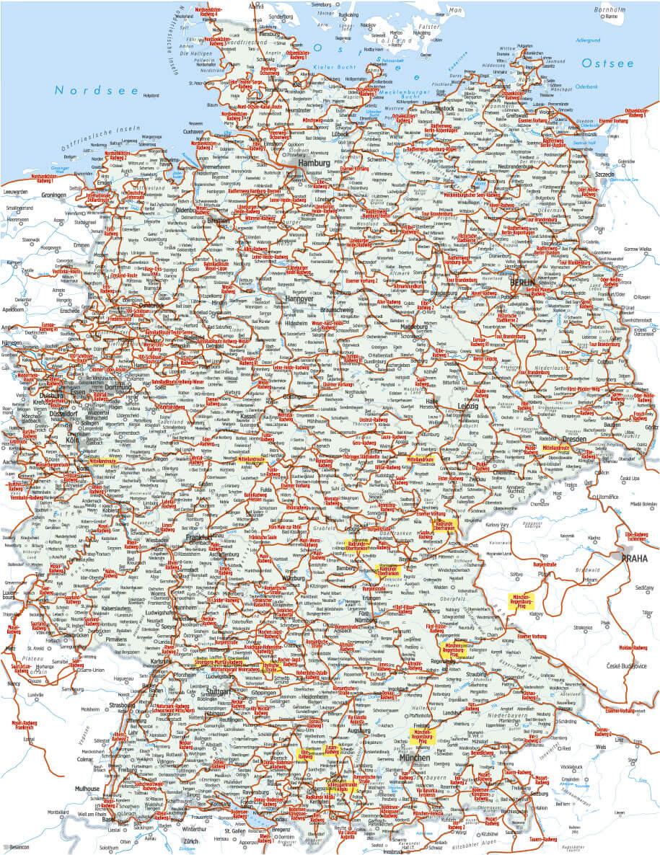 Berliner Mauer Radweg Bikeline Radfuhrer Mit Karte