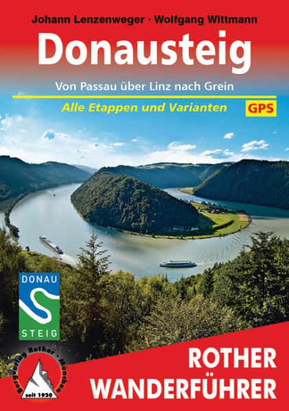 Donausteig Wanderführer, Rother
