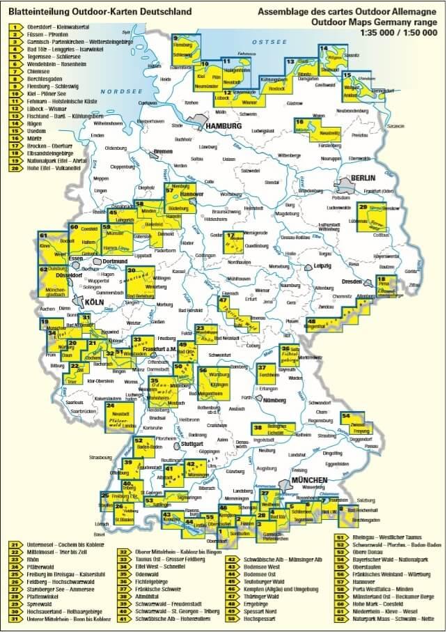 Nationalpark Eifel Karte.Nationalpark Eifel Blatt 19 Outdoorkarte 1 35 000 Kümmerly Frey