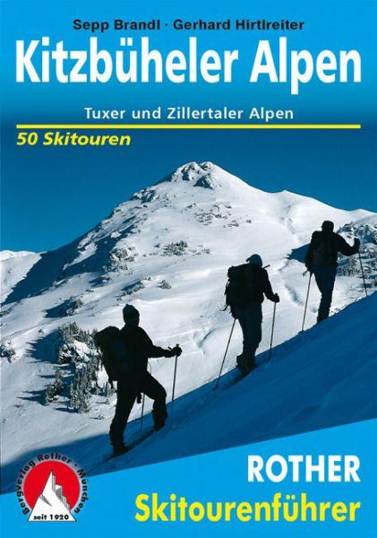 Kitzbüheler und Tuxer Alpen Rother Skitourenführer
