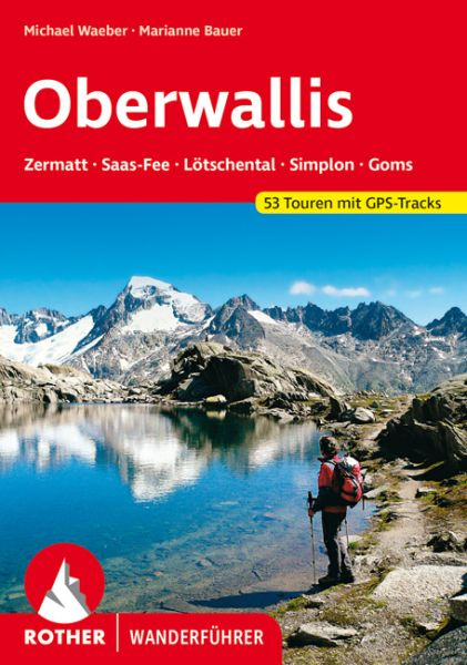Oberwallis Wanderführer, Rother