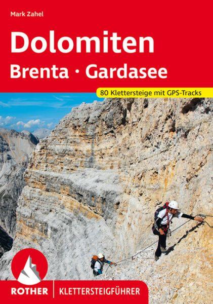 Dolomiten Klettersteigführer - Wanderführer, Rother